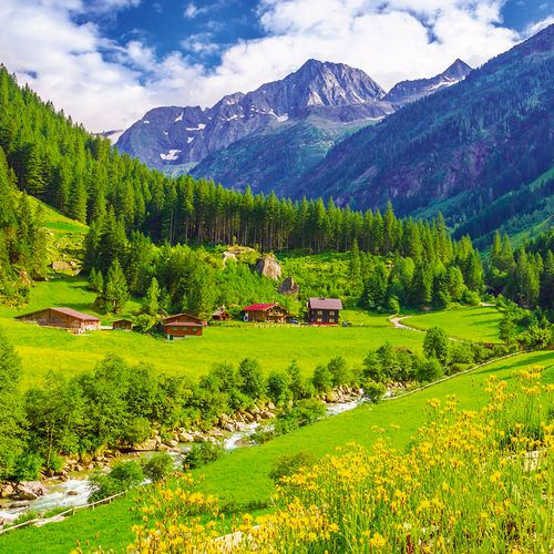 Kaltenbach in the Zillertal Valley